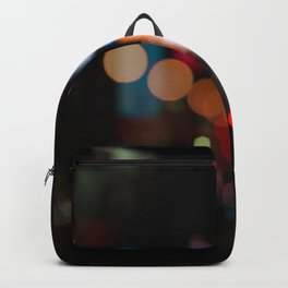 New York Lights at Night Backpack
