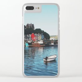 The Port Of Tobermory Clear iPhone Case