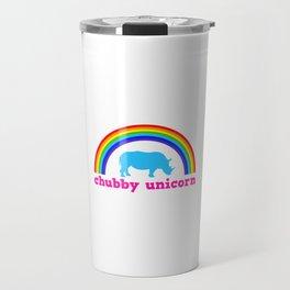 Chubby unicorn Travel Mug