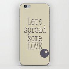 Spread Some LOVE iPhone & iPod Skin