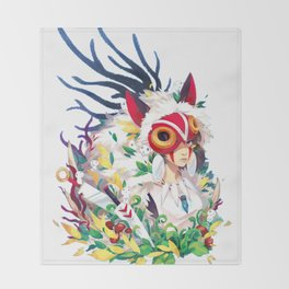 Mononoke Throw Blanket