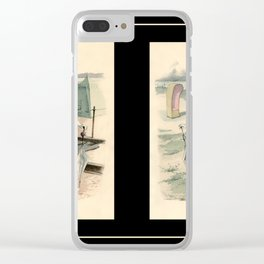 Victorian Dress 11 Clear iPhone Case