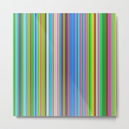 Happy barcode Metal Print