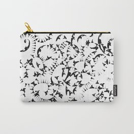 Organic Pattern Carry-All Pouch