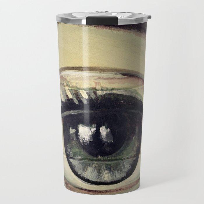 Eyes are Windows to the Soul Travel Mug