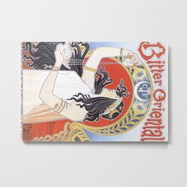Bitter Oriental Metal Print