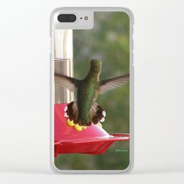 This Feeder is MINE! Clear iPhone Case