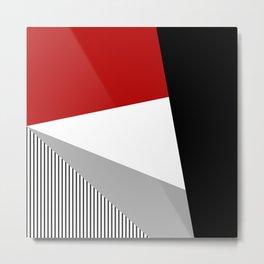 Modern geometry Metal Print