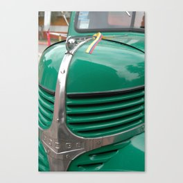 Close up of Truck Canvas Print