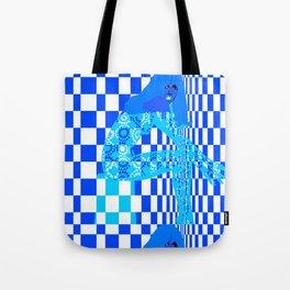 Mod - Blue Tote Bag