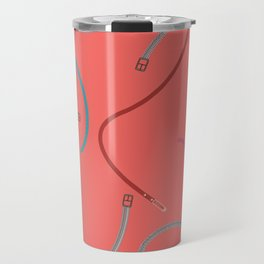 COLOURFUL BELTS AND BUCKLES Travel Mug
