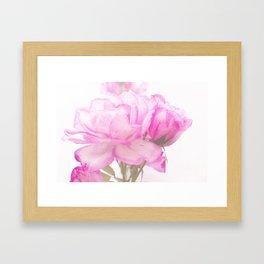 Light Pink Blend Rose #1 #floral #decor #art #society6 Framed Art Print