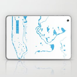 Parks - nyc vs istanbul Laptop & iPad Skin