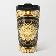 GlaMANDALA | Mandala Glamour Metal Travel Mug