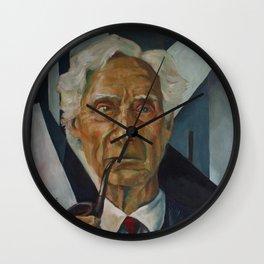 Bertrand Russell Wall Clock