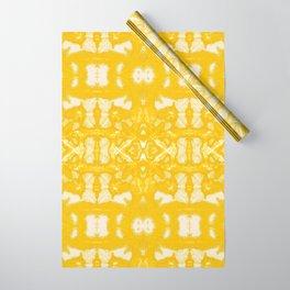 Yellow Oxford Shibori Wrapping Paper