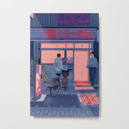 Getting Ramen Metal Print
