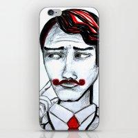 gentleman iPhone & iPod Skins featuring gentleman by sladja