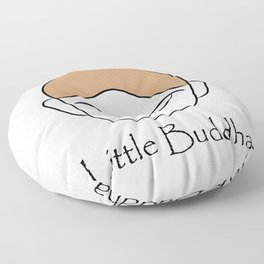 Cute little Buddha Floor Pillow