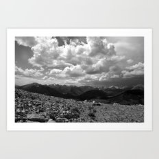 Colorado Cloud Art Print
