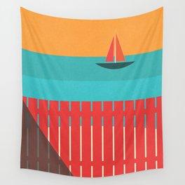 Summer Heat Wall Tapestry
