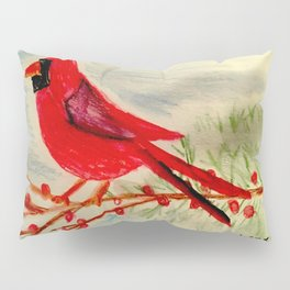 Winter Red Pillow Sham