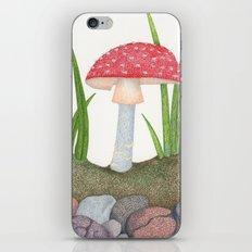 Amanita Muscaria iPhone & iPod Skin