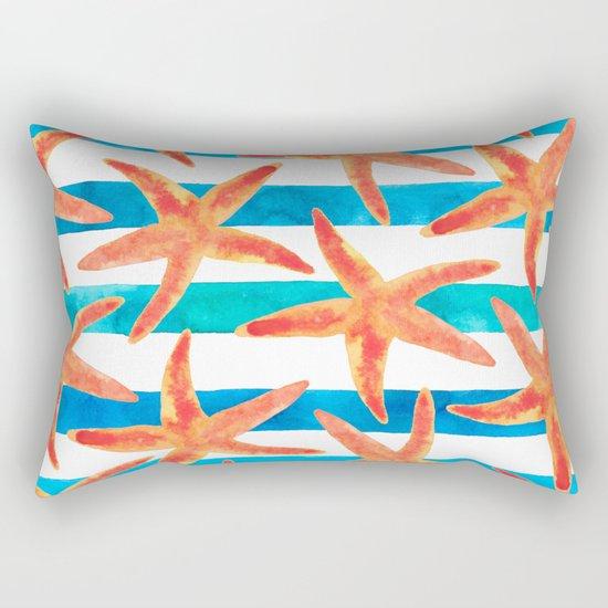 Starfish Tropics Rectangular Pillow