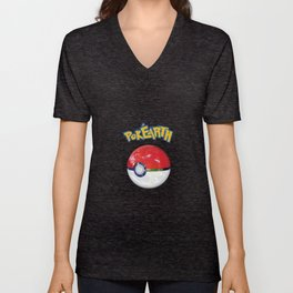 PokEarth Unisex V-Neck