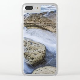 Silk Rock Clear iPhone Case