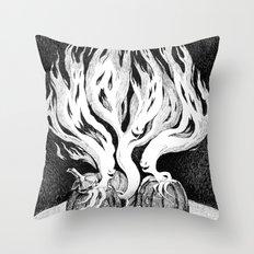 Halloween Escape Throw Pillow
