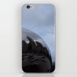 Cloud gate at Chicago iPhone Skin