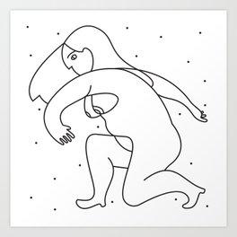 Constelated Art Print