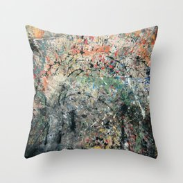 Abstracción II Throw Pillow