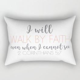 2 Corinthians 5:7 Rectangular Pillow