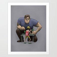 The Champion Art Print