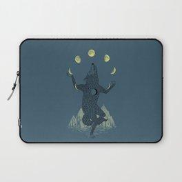 Moon Juggler Laptop Sleeve