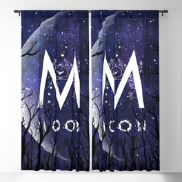 Starry Night and Moon #6: Moon Blackout Curtain