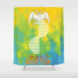 Record Shower Curtains