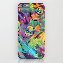 Rise turtles - Leo and Mike iPhone Case