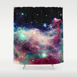 Eagle Nebula / Horsehead Nebula Deep Pastels Shower Curtain