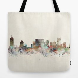 nashville city skyline Tote Bag