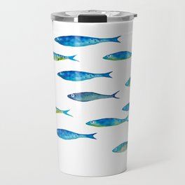 tropical minnows Travel Mug