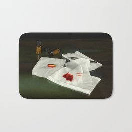 Bullet extraction Bath Mat