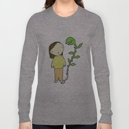 La planta del pie Long Sleeve T-shirt