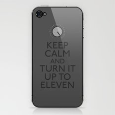 Turn it up to eleven iPhone & iPod Skin