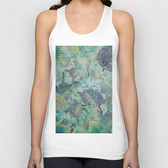 Watery Whimsy Unisex Tank Top