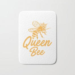 Queen bee, God Save The Queen, Bee Lover Gift, Beekeeper Gift Bath Mat
