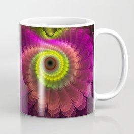 Curling up fantasy flower Coffee Mug