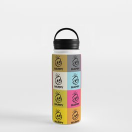 HAPPY SQUARES Water Bottle